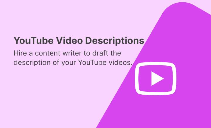 Youtube Video Description