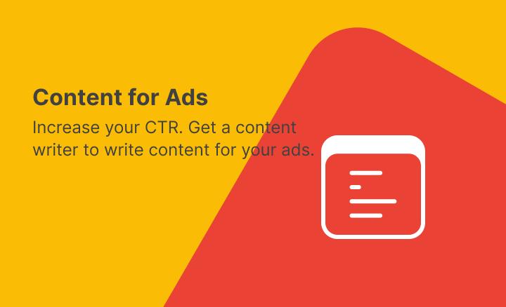 Social Media Ad Content