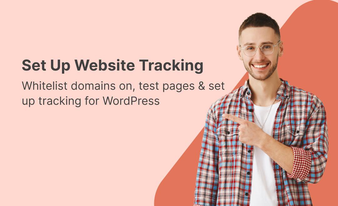 Set Up Website Tracking