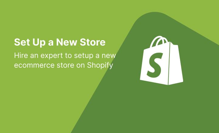 New eCommerce Store Setup