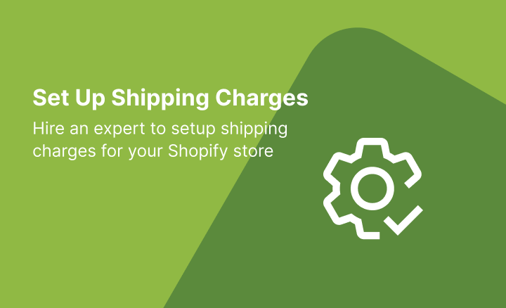 Shipping Charges Setting
